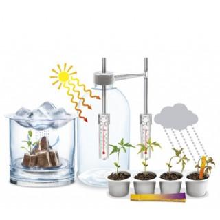 Ciência do Clima, Experiências c/ Plantas, Eletricidade Estática, Ciclo de Água, Efeito Estufa