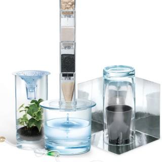 Água Pura Kit Ciência, Dessalinização e Descontaminação, Pedagógico Escolar 4m