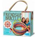 Bracelete da Amizade, Monte a Pulseira artesanalmente, brinquedo educativo e divertido