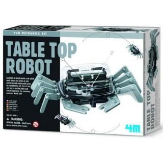 Caranguejo Robô, Mini Kit robótica com sensor anti queda. Brinquedo Educativo