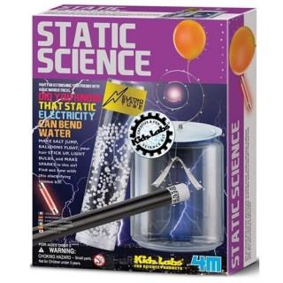 Kit Ciência Estática, Experimentos eletricidade estática, truques de eletrostática