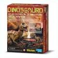 Velociraptor, Kit de Escavação, Brinquedo Educativo 4m
