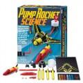 Kit Lança Foguetes, Pump Rocket Science, Ciência de Isaac Newton, Brinquedo Educativo