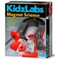 Ciência Magnética Kit Educativo 10em1: Imã, Bussola, Jogos, Escultura, Veiculo Magnetico,etc