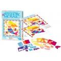 Kit  Mini Mosaico de Janela, Brinquedo Educativo 4m (Borboleta, fada ou sereia)