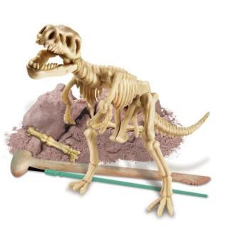 Tiranossauro Rex, Brinquedo Educativo, Kit Paleontologia, Escavação Esqueleto, 7+