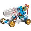 Carro Movido a Ar Comprimido, Pneumático, Sem motor ou Pilhas, Kit de Montagem