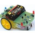 Robô Seguidor de Linha, Kit Robótica Eletronico com Motor de Redução
