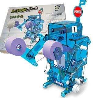 Robo Boxe Luta, Kit de Robótica Educacional Montagem Elétrico Controle Remoto, 8+