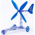 Carrinho do Vento p/ montar, Veículo Energia Eólica, Brinquedo Sustentável, sem pilhas