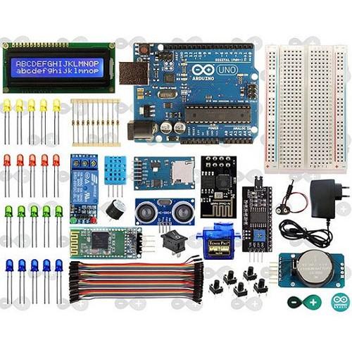 Kit introdução ao arduíno eletrônica robótica e