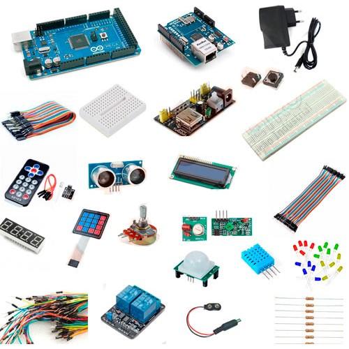 Kit arduíno master automação de eletrônica p