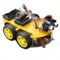 Kit Robótica Carro Controle Remoto Bluetooth p/ Arduíno, Carro Robô Inteligente Programavel.