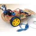 Robô Arduíno Ultrasonico Inteligente, Detecta e desvia obstáculos, Kit Arduíno c/ Código Fonte