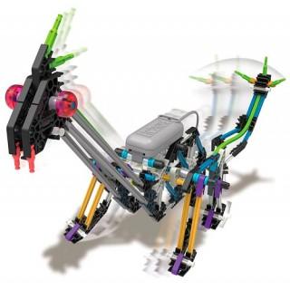Brontossauro, Dinossauro KNEX c/ 3 projetos para montar, Robótica Estrutural Motor 213 pçs