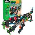 Jacaré, Robo-Croc KNEX c/ 3 projetos para montar, Kit Robótica Estrutural c/ Motor 176 pçs