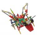 Robô com Asas, Sting Robot, KNEX 157 peças, Kit Robótica motorizado, Criatura Robótica