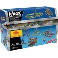 K'NEX 35 Modelos de Construção, Kit Robótica Estrutural com 480 peças