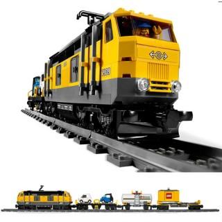 Trem de Carga Motorizado, Lego City, Controle Remoto, 839 peças