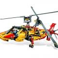 Helicóptero Motorizado para montar 1056 peças, Kit Lego Technic, Brinquedo educacional