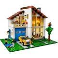 Casa de Família: Garagem, Larareira. Fábrica e Vila LEGO 3x1 Montagem 756 peças