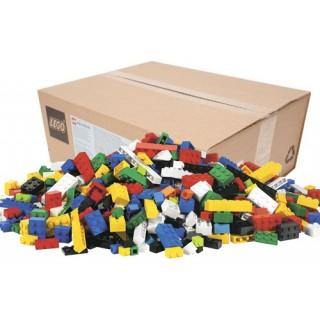 Conjunto LEGO Education Brick com 884 blocos p/ montar, 9 cores e 11 tamanhos