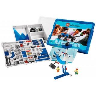 Lego Education, Kit Robotica 9632, Mecanismos Motorizados Tecnologia c/ 352 peças