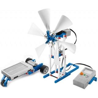 9688 Kit LEGO Energia Solar e Eólica, Kit Complementar de energia Renovável p/ NXT e EV3