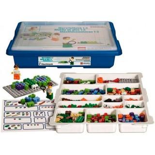 Lego Educacional Matemática, Kit de Matemática c/ 521 pçs, Software c/ 48 atividades 6+