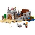 Minecraft LEGO 21121, 519 peças, Fortaleza no Deserto, Torre, Explosivos, Esqueletos, 8+