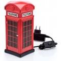 Luminária Cabine Telefônica de Londres, Miniatura Decorativa, Presente, Lampada de LED