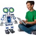 MeccaNoid 2.0, Robo Inteligente, Programação Simples iOs e Android, 60cm altura, 497 pçs