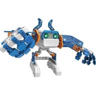MicroNoid Robo que fala e anda, Montagem Programação Fácil, Educativo 8+ com 139 peças