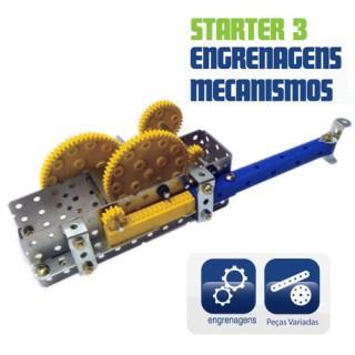 Engrenagens e Mecanismos, Kit robótica educativo para montar.