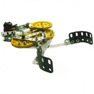 Garra Robótica Mecânica 1 eixo de movimento, Kit Robótica