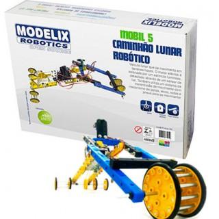 Carro Lunar Robótico Motorizado Sensor de Luz, Kit Robótica Educativo! + de 250 pçs