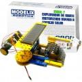 Explorador de Marte, Carro Robô Motor Energia Solar, Kit Robótica Metálico Montagem 9+