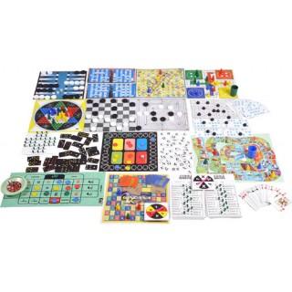 18 Jogos, Dama, Ludo, Palavras Cruzadas, Gamão, Resta 1, Roleta, Baralho, Multiplicação