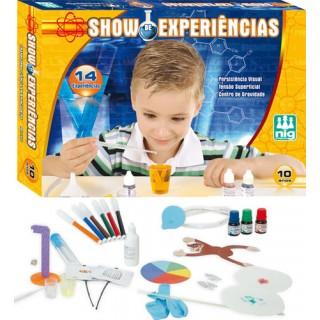 Ciência e quimica. Brinquedo Educativo. Kit 14 experiências científicas, 10+