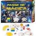 kit 20 Mágicas, Truques Semi-profissionais, Lenço, varinha e Cartas Especiais, 10+