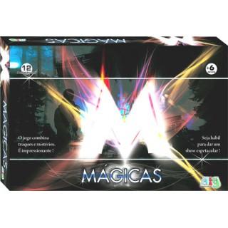 Kit 12 Mágicas, Truques e Mistérios dos Grandes Mágicos, Telepatia, Ilusão de ótica, 6+
