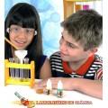 Química Laboratório, Kit Educativo, 40 Experimentos Cientificos com reagentes, 10+