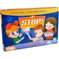 Jogo STOP, roleta de plástico, 60 temas Muito divertido, 2 a 4 participantes, 6+