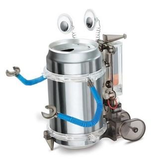 Robô Latinha, Tin Can Robot 4m 00-03270, Brinquedo Educativo Sustentável