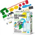 Kit 7 Experiencias Ciências, Brinquedo Ecológico Sustentável Educativo, Material Reciclado 5+