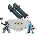 Robôs Luta c/ Arena, Knight X Viking + Controles Sensor Movimento