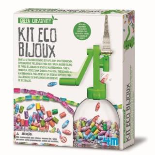 Bijuteria Ecologica, Monte Colar e Pulseira c/ Material Reciclado 4m