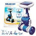 Robô Solar, Robô Montar, Brinquedo Sustentável, Kit Robótica Energia Solar 6 projetos
