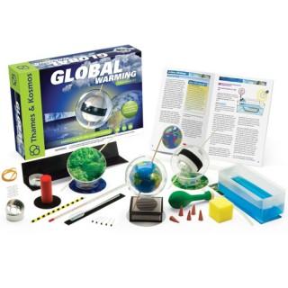 Aquecimento Global, Kit Meteorologia: Clima, Atmosfera, Nuvens, Efeito Estufa 23 Experimentos