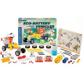 Ecológico Kit ECO-Battery Carros Elétricos do Futuro, Kit Robótica, 20 modelos